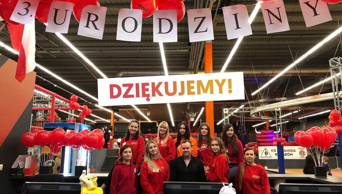 3. Urodziny FlyPark Rzeszów za nami!